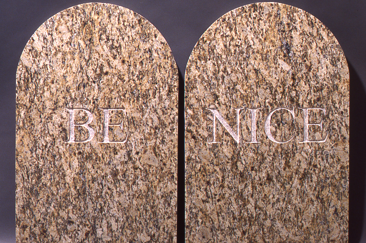 Be Nice by Larry and Debby Kline